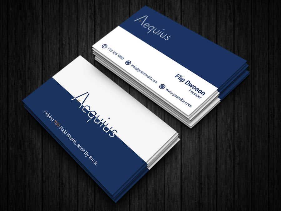 Penyertaan Peraduan #637 untuk Business Card Design