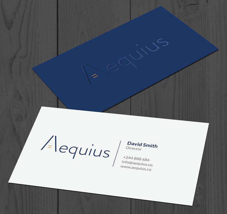Penyertaan Peraduan #473 untuk Business Card Design