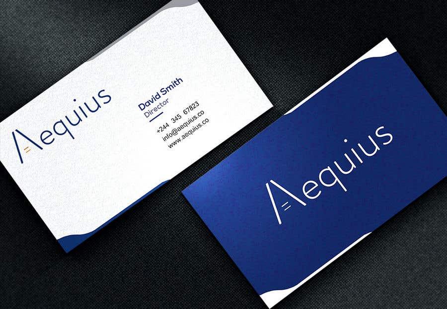 Penyertaan Peraduan #508 untuk Business Card Design