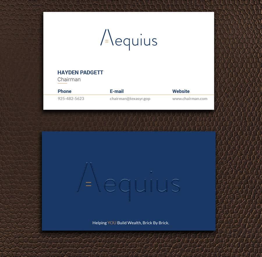 Penyertaan Peraduan #691 untuk Business Card Design
