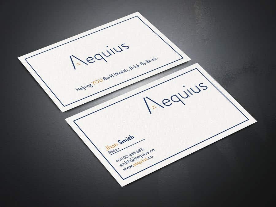 Penyertaan Peraduan #763 untuk Business Card Design