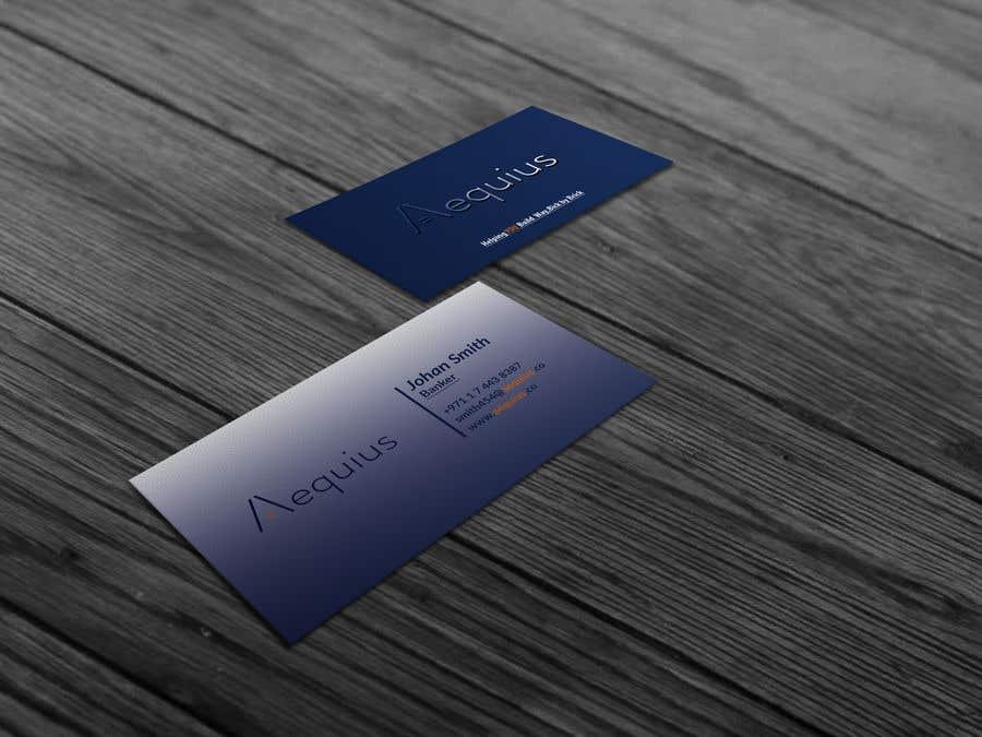 Penyertaan Peraduan #642 untuk Business Card Design