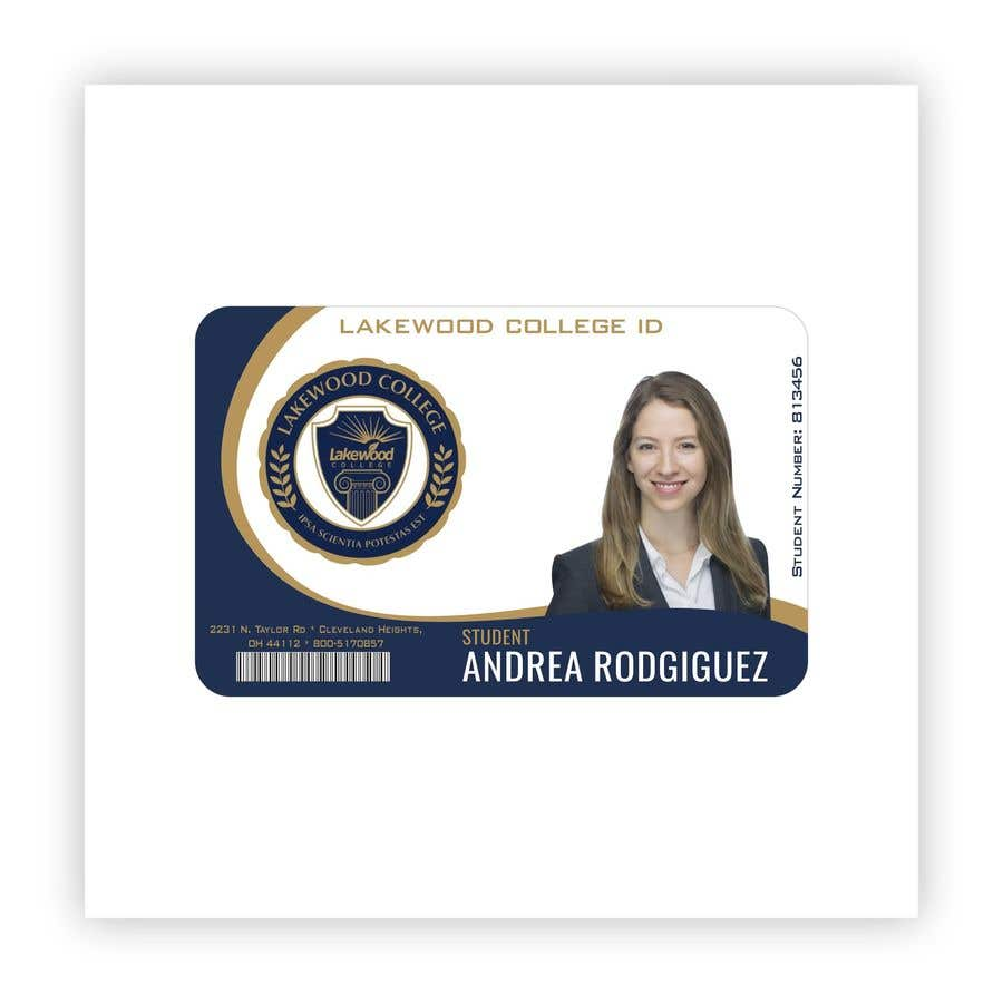 Entry #82 by fahidyounis for Design a Student ID Card