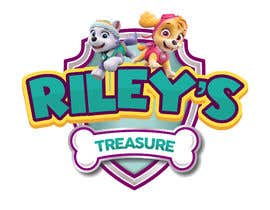 #7 for My daughter has started a hobby/business selling second hand goods. The name of the business is RILEY'S TREASURES. Attached pics show her favourite colours from a tv cartoon she likes. by inihisyam