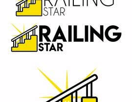 """#8 для I attached some of my competition logos my company call """"railing star"""" I want logo that will combine star with rails get some ideas from my attachments от ashnabjamshaid"""