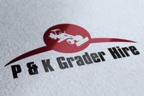 Contest Entry #1 for Logo Design for P & K Grader Hire
