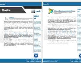 #8 для Design a template for product sheets от imfarrukh47