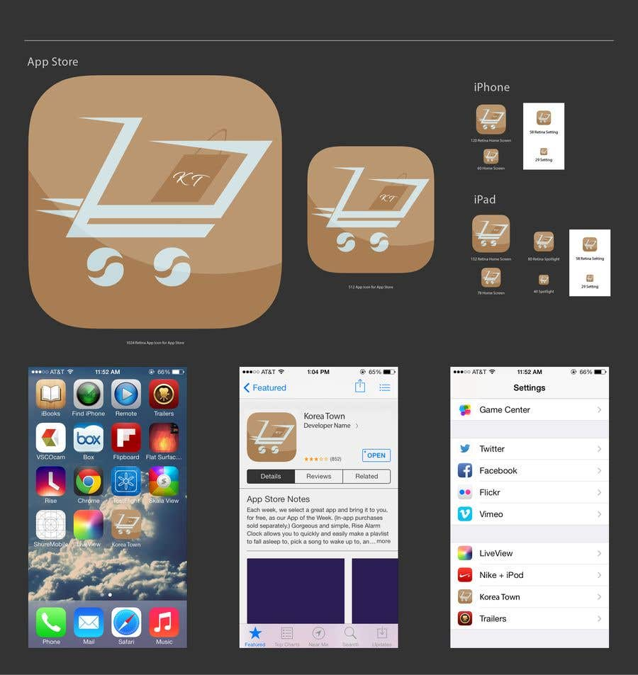 Entry #45 by danieledeplano for shopping app icon | Freelancer