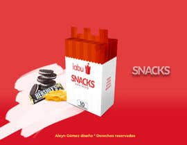 #11 para Diseño de empaque para caja de Snacks de alengom