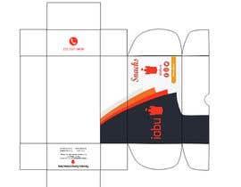 #15 para Diseño de empaque para caja de Snacks de Jou2010