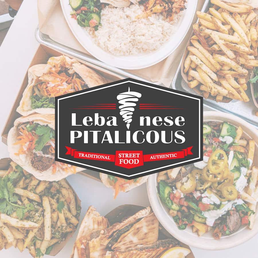 Contest Entry #121 for Lebanese Street food Logo