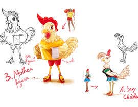 #2 for Draw cartoon chickens by hsandali