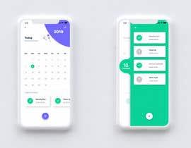 Nro 4 kilpailuun mobile app page design käyttäjältä graphiative