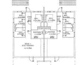 #1 для Make floor-plan handwritten/ architect style от aliwafaafif