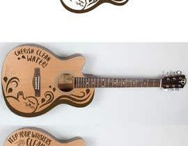 #5 для On Face of a Guitar is the Artist от LiberteTete