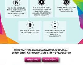 #3 pentru Designs for Media and Entertainment Website de către drima16