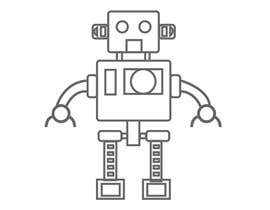 #42 for Design a simple robot icon (grey lines, 16x16px, 48x48px and 128x128) by rjahan92