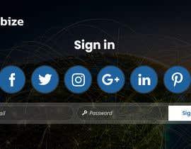 Nro 21 kilpailuun I need professional and dynamic designer who can make my signup page professionally käyttäjältä yasirmehmood490
