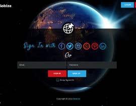 Nro 13 kilpailuun I need professional and dynamic designer who can make my signup page professionally käyttäjältä saidesigner87