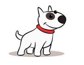 #17 for Bull Terrier Cartoon Caracter af CiroDavid