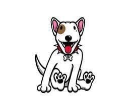#10 for Bull Terrier Cartoon Caracter af andrescastroc