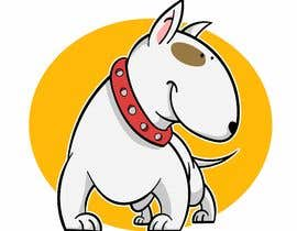 #22 for Bull Terrier Cartoon Caracter af ToaMota