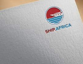#180 untuk Logo Ship.africa oleh shurmiaktermitu