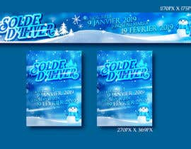 #10 for Build me two banner for the discount periode in France by becretive
