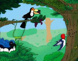 #4 for illustrations for Children's book  (sample page) af FacundoAyala