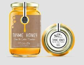 #88 для Design a minimalistic and playful product label for a natural thyme honey jar. от sbihamiri