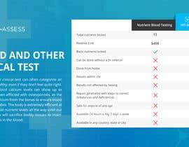Nro 52 kilpailuun Design a beautiful comparison table for our website. käyttäjältä Firakibbd