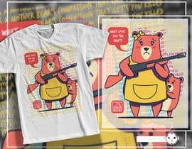 #54 for T-shirt Design.... Funky, Minimal, Cartoon, Funny, Ironic af adingph