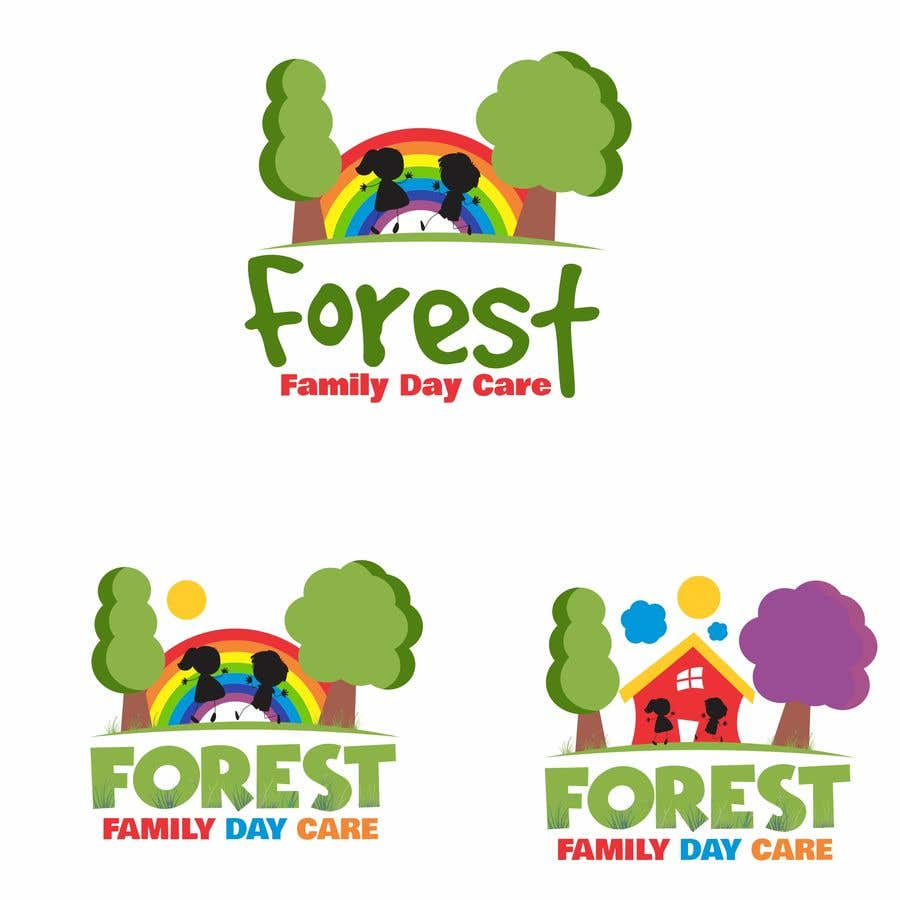 Inscrição nº 6 do Concurso para We are opening a Nature Play inspired family Day care scheme called 'Forest Family Day Care'. We need a logo that is simple, natural, reflects the great outdoors, highlights families/children of diverse cultures. Further details below.