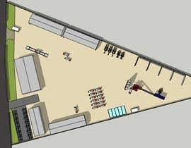 #43 для Industrial Yard Floor Plan and Layout от aliwafaafif