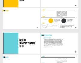 #39 для make a logo presentation template - make a business branding template от sumaiya505