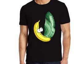 #74 for Realistic banana design to print on tee-shirts by kasupedirisinghe