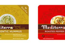 #45 для Hummus Packaging (label design based on existing graphical identity) от rkdesi