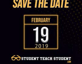 "#9 для Create ""Save The Date"" Instagram Content Posts for www.StudentTeachSudent.com Go-live от mayankshakya"