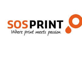 "#6 для Design a stylish logo for ""SOSprint"". It's a printing service. I uploaded 2 images for reference. от suptokarmokar"