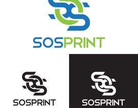 """#1 untuk Design a stylish logo for """"SOSprint"""". It's a printing service. I uploaded 2 images for reference. oleh rizalmulyana7"""