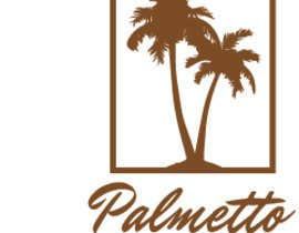 #14 for Logo for Palmetto Fence company. The Company builds fences in north and South Carolina. incorporate the following: The states of north and South Carolina.  a palm tree as in South Carolina state flag and also incorporate some type of fencing. by darkavdark