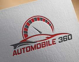 #56 для I need a logo designed for my new company named Automobile 360. The colors I prefer are blue, black and white. от aktaramena557
