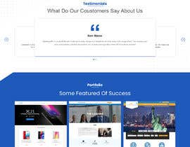 #6 for mockup re-design for current IT site in build by saidesigner87