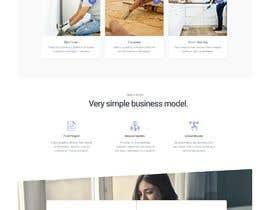 chiku789 tarafından Design a web template that goes well with Tradies App için no 10