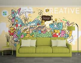 nº 33 pour Graphic designer for wall mural par tlcwakeel