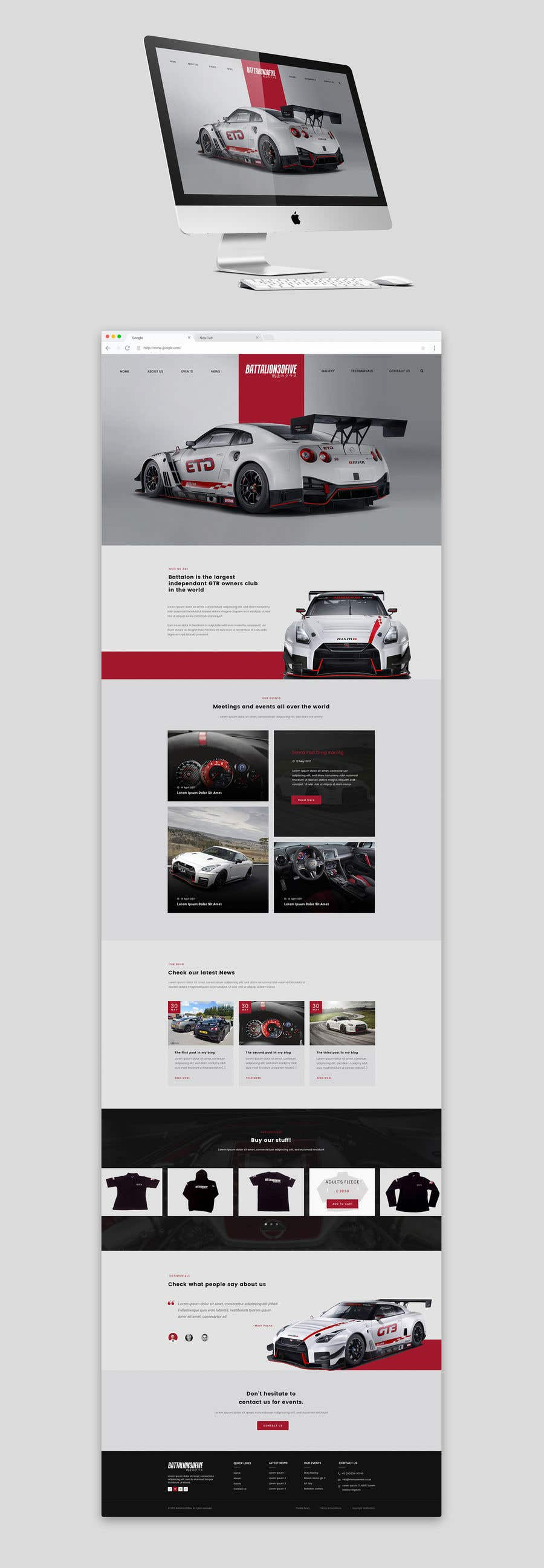 Contest Entry #15 for Re-design site homepage