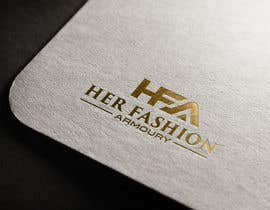 #38 for 'Her Fashion Armoury' or the Acronym 'HFA' in a logo. No bright colours. Classic design. Will be for an online female clothing rental business by rifatsikder333