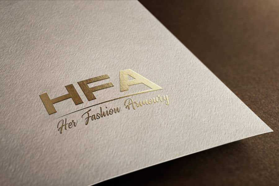 Konkurrenceindlæg #27 for 'Her Fashion Armoury' or the Acronym 'HFA' in a logo. No bright colours. Classic design. Will be for an online female clothing rental business