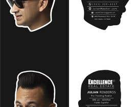 nº 79 pour Design Die Cut Business Cards of Head ONLY par Artymotion
