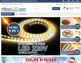 #39 для 4 Products Banners for our French Led strip ecommerce website от SJADDesigns